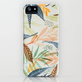 Hello Leaves  iPhone Case