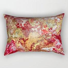 RED GARDEN Rectangular Pillow