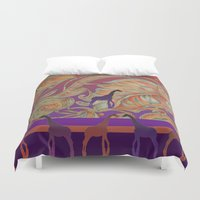 boho Duvet Covers featuring  boho morocco by Ariadne