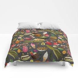 Summer BBQ Cookout Comforters