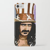 zappa iPhone & iPod Cases featuring Zappa by Saundra Myles