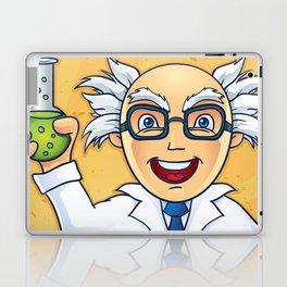 I Love Science - Mad Scientist Illustration Laptop & iPad Skin