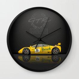 1995 McLaren F1 GTR Le Mans - Harrods Livery #06R  Wall Clock