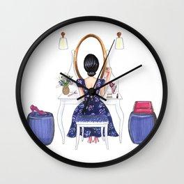 Makeup table Wall Clock
