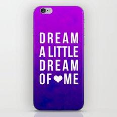 Dream x Purple iPhone & iPod Skin