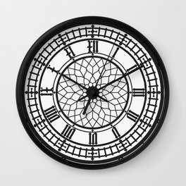 Big Ben, Clock Face, Intricate Vintage Timepiece Watch Wall Clock