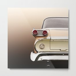 US American classic car 1959 villager station wagon Metal Print
