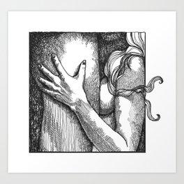 mature/felatio/blowjob/erotic/erotica/eroticillustration/porn/cock/sex/art/pornart Art Print