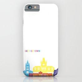 Georgetown skyline pop iPhone Case