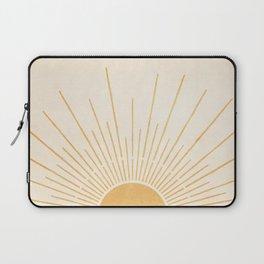 Sun #5 Yellow Laptop Sleeve