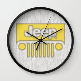 Jeep Style Chrome Wall Clock