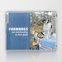 Outstanding Farmdogs Laptop & iPad Skin