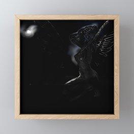 Fact in black Framed Mini Art Print