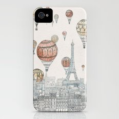 Voyages Over Paris Slim Case iPhone (4, 4s)