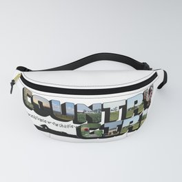 Country Girl Big Letter Fanny Pack