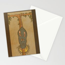 Muroidea Rat Tarot- The Hanged Man Stationery Cards