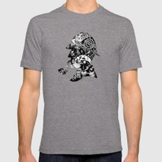 Mr. Holmes Tri-Grey Mens Fitted Tee LARGE