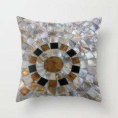 Mother-of-Pearl Throw Pillow