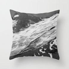 Crevassed Throw Pillow