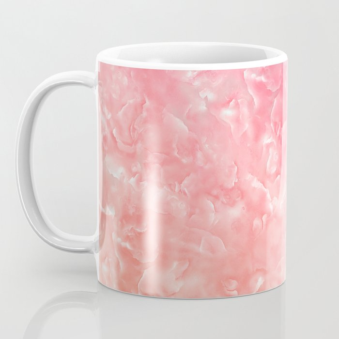 Rose & Gold Mother of Pearl Texture Coffee Mug