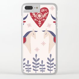 Swedish Christmas 3 Clear iPhone Case