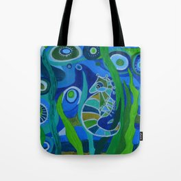 Seahorse Sea tote Tote Bag