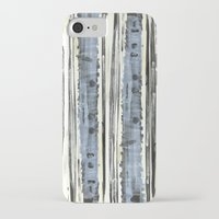 birch iPhone & iPod Cases featuring Birch by Sand Salt Moon