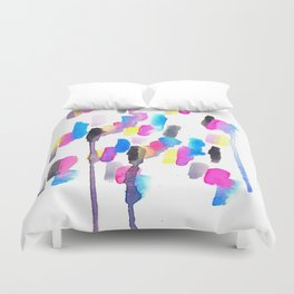 Chaotic Notes Duvet Cover