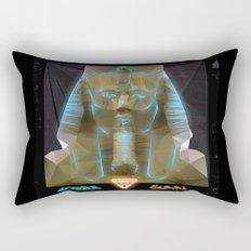 Pharao Ramses II. Rectangular Pillow