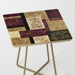 Crackle2 Side Table