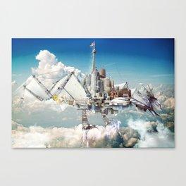Mechanical Phoenix Canvas Print