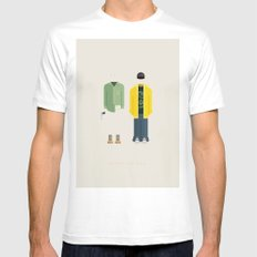 Breaking Bad | Famous Costumes Mens Fitted Tee White MEDIUM