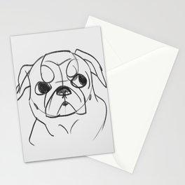 PUG - DOG SERIES NO.001 Stationery Cards