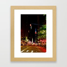 Empire State Building, NYC (2) Framed Art Print