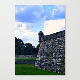 Castillo de San Marcos  Canvas Print