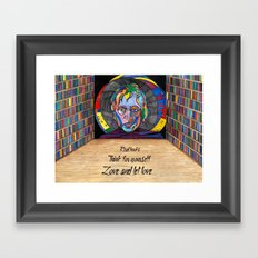 Big Brother Cool Framed Art Print