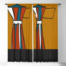 Beloved moka Blackout Curtain