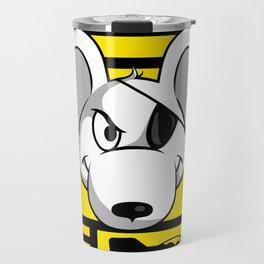 Danger Zone - Yellow Travel Mug