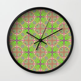 Limerick Limeade Wall Clock