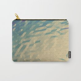 Only Colored Triangles Carry-All Pouch