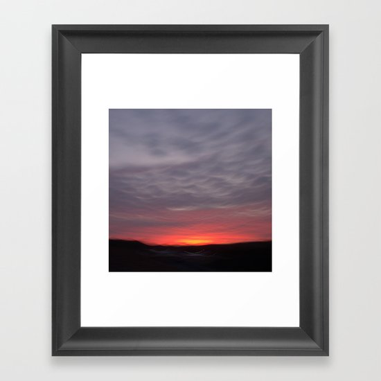 One Night in September Framed Art Print