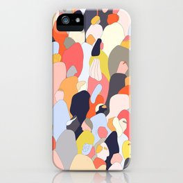 Crowded iPhone Case