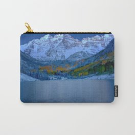 Maroon Bells at Dawn Carry-All Pouch