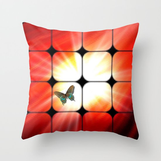 Windows as the sun. Throw Pillow