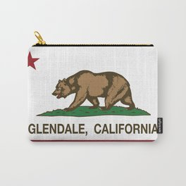 Glendale California Republic flag Carry-All Pouch