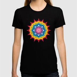 Mandala- Spectrum Lotus T-shirt