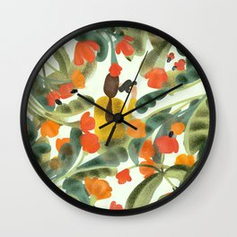 Spying On You Wall Clock