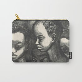 African American Art Carry-All Pouch