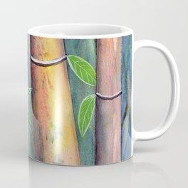 Magical Bamboo Forest Watercolor mixed media Coffee Mug