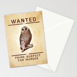 Fowl Suspect Stationery Cards